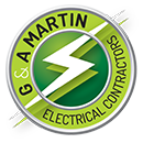 G & A Martin Electrical Contractors – Solar & Battery Installations Logo