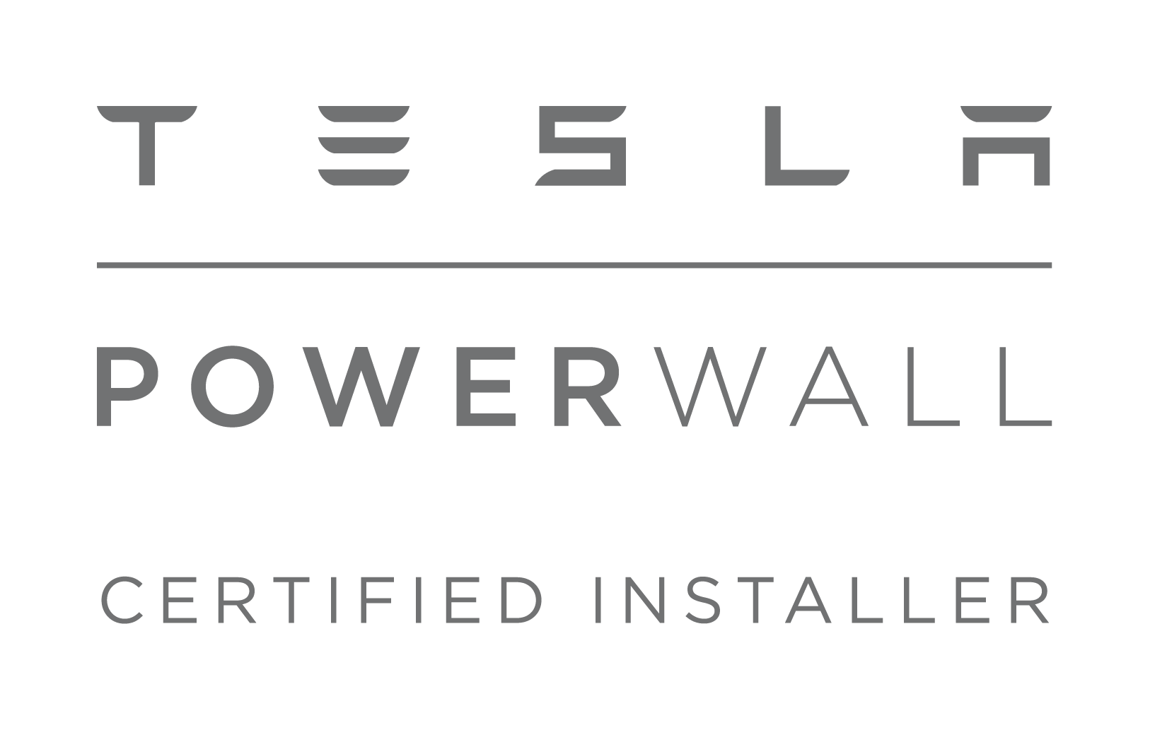 Tesla - Powerwall Certified Installer